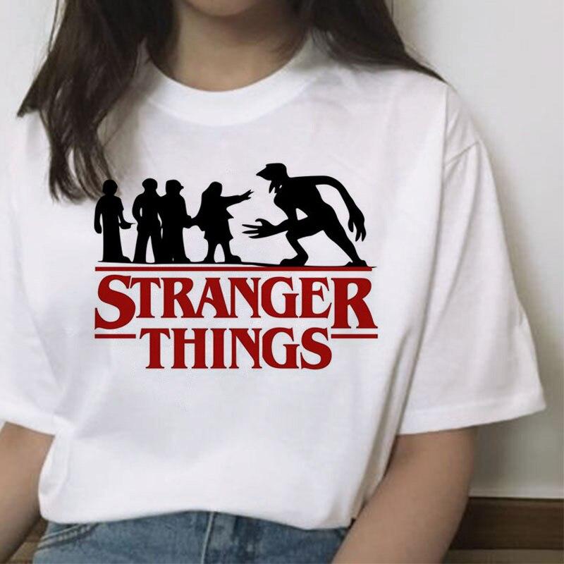 Funny T Shirt for Women Stranger Things Female Tshirt Friend Don't Lie Letter Print Tshirts Summer O-neck Hot Tv Series T-Shirt 2