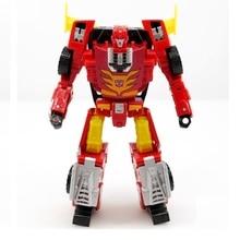 1 sztuk Hot Rod Robot figurka klasyczne zabawki dla chłopców dzieci bez opakowanie detaliczne