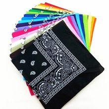 2020 moda hip hop 100% algodão bandana lenço quadrado 54cm * 54cm preto vermelho paisley bandana bandana bandagem impresso para mulher/homem/meninos/meninas