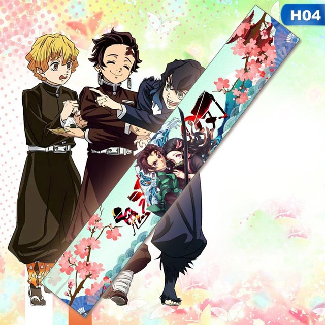 Trendy Anime Scarf Demon Slayer Kimetsu No Yaiba Bungo Stray Dogs