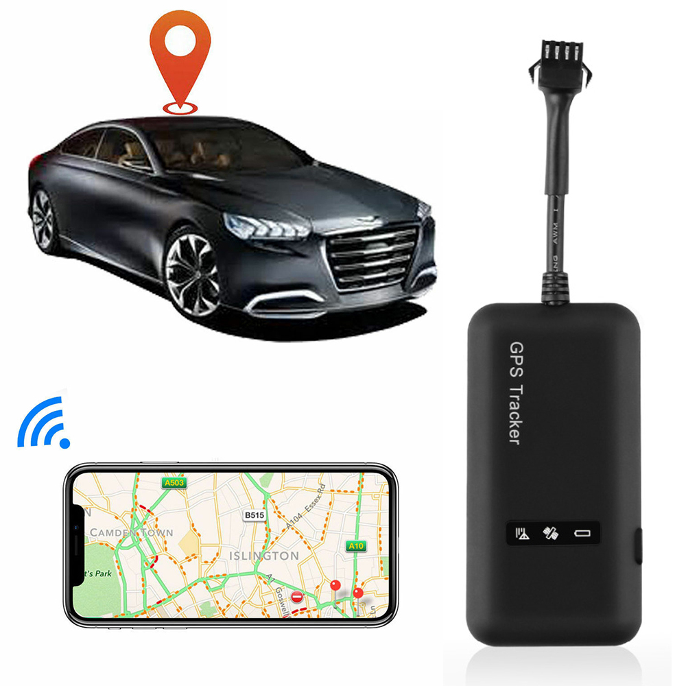 Mini <font><b>GPS</b></font> Tracker TK110 <font><b>GT02A</b></font> <font><b>GPS</b></font> Locator Real Time <font><b>GPS</b></font> Tracker GSM GPRS Tracking Device for Car 12-36V Google Maps with Free APP image