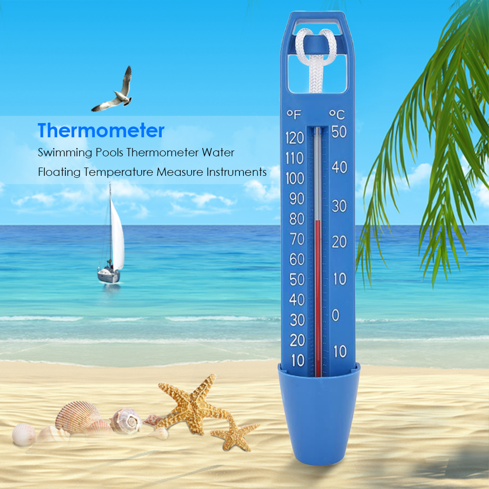 C Display Pool Spa   Schwimmtier Thermometer F