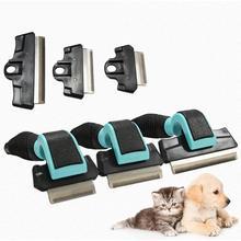 Щетка для домашних животных, для собак, кошек, профессиональный инструмент для ухода за домашними животными