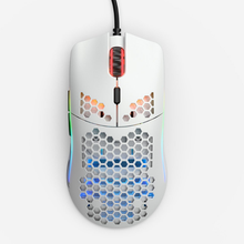 Mouse Glorious Gaming Model O- (Small) WHITE Mate (Branco Fosco) - GOM-WHITE/ White Glossy (Branco Brilhante) - GOM-GWHITE