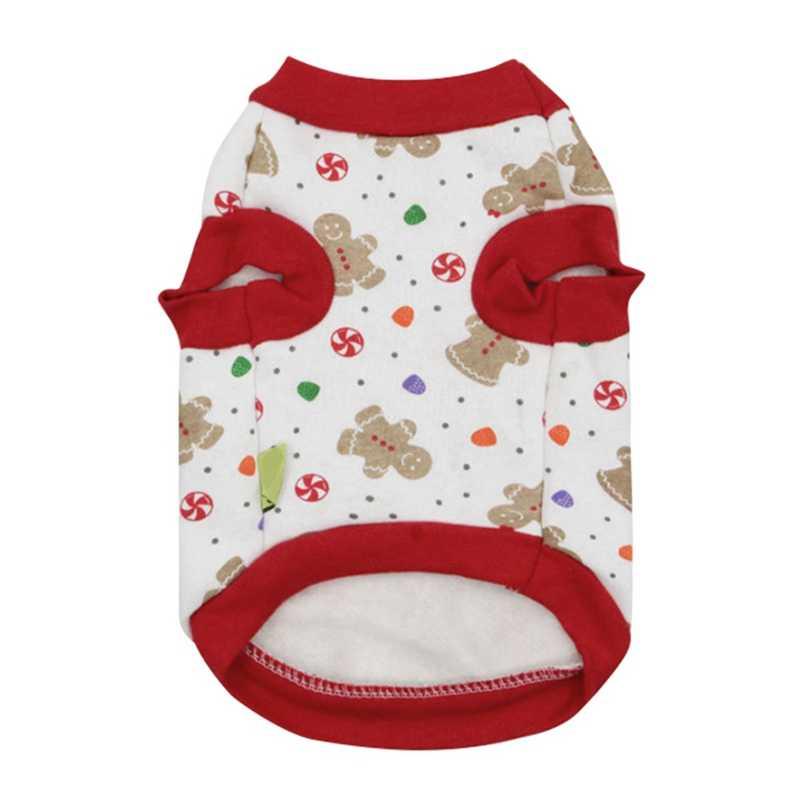 Vestiti dell'animale domestico Per Il Carnevale Di Natale Puppy Shirt Magliette e camicette Del Cane Del Panno Morbido Costume di Natale Albero Di Natale Della Maglia T-Shirt
