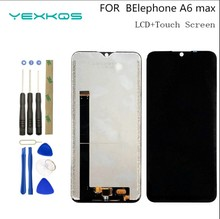 """ใหม่6.53 """"สำหรับElephone A6 MaxจอแสดงผลLCD + หน้าจอสัมผัส100% จอLCDเดิมDigitizerการเปลี่ยนแผงกระจกสำหรับA6max"""