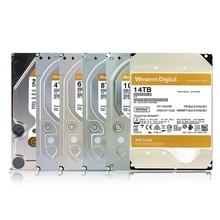 Wd western digital gold hdd 2tb, 4tb, 6tb 8tb 10tb 14tb hdd sata 3.5 disco rígido interno disco rígido, disco rígido para desktop