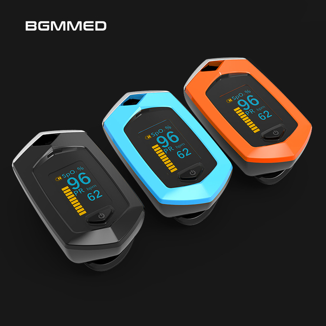 $ US $30.79 Rechargeable Finger Pulse Oximeter Oximetro De Dedo blood oxygen Heart Rate Monitor Spo2 Sports Pulsioximetro