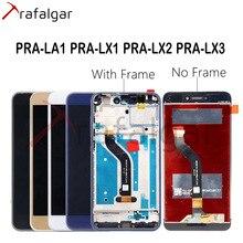 Trafalgar pantalla táctil para Huawei P9 Lite 2017, pantalla LCD PRA LA1 LX1 LX3, P9 Lite 2017, con marco