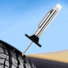 Шина Шаблон Линейка для замера глубины 25 мм измеритель глубины для шин рисунок линейка протектора знак протектора Ручка инструменты для автомобиля измерительные инструменты