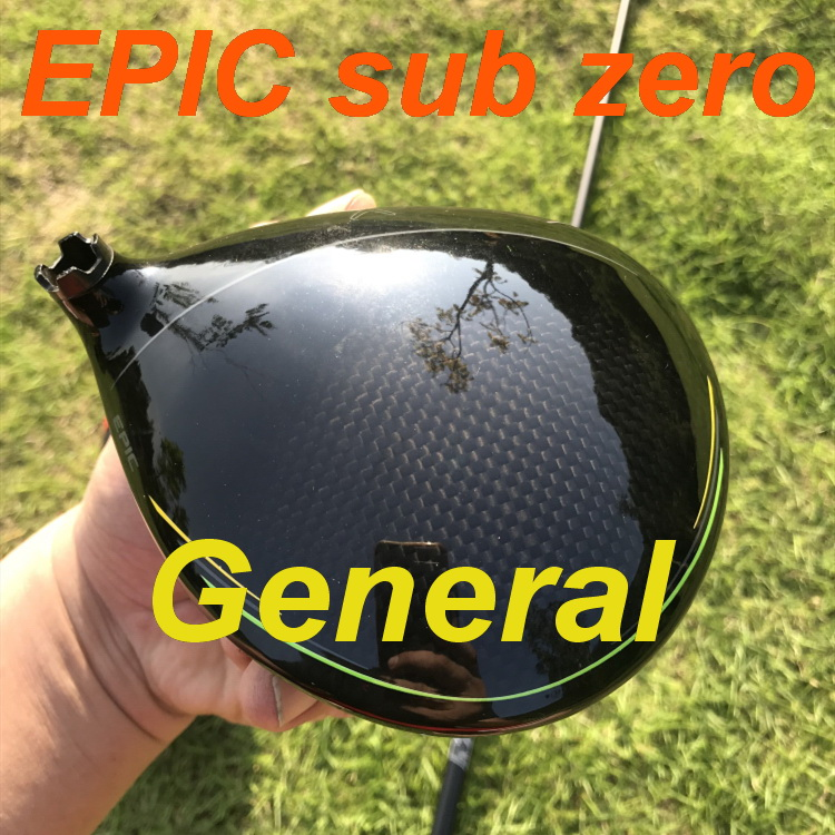 2019 General real golf driver original EPIC FLASH SUB ZERO driver 9 /10.5 degree with TourAD IZ6 shaft authentic golf clubs