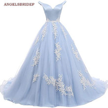 Ball-Gown Quinceanera-Dresses Sweet 16 Princess 15-Party ANGELSBRIDEP Off-Shoulder Organza