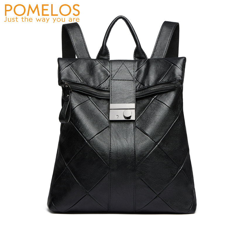 POMELOS Women Backpack HOT SALE Anti Theft Backpack Designer Backpacks Women High Quality Synthetic Leather Backpack Travel Bag