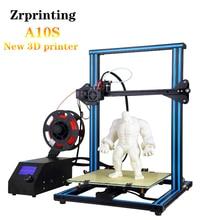 A10S Desktop 3D Printer Half Assembled 0.4mm  300*300*400mm Printing Size цена