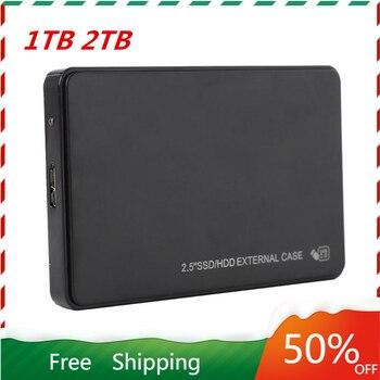 2.5 모바일 하드 디스크 USB3.0 SATA3.0 1 테라바이트 2 테라바이트 HDD 디스코 듀로 externo 외장형 하드 드라이브 (노트북/Mac/Xb 용)