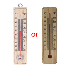 Wall Hang Thermometer Indoor Outdoor Garden House Garage Office Room Hung Logger(China)