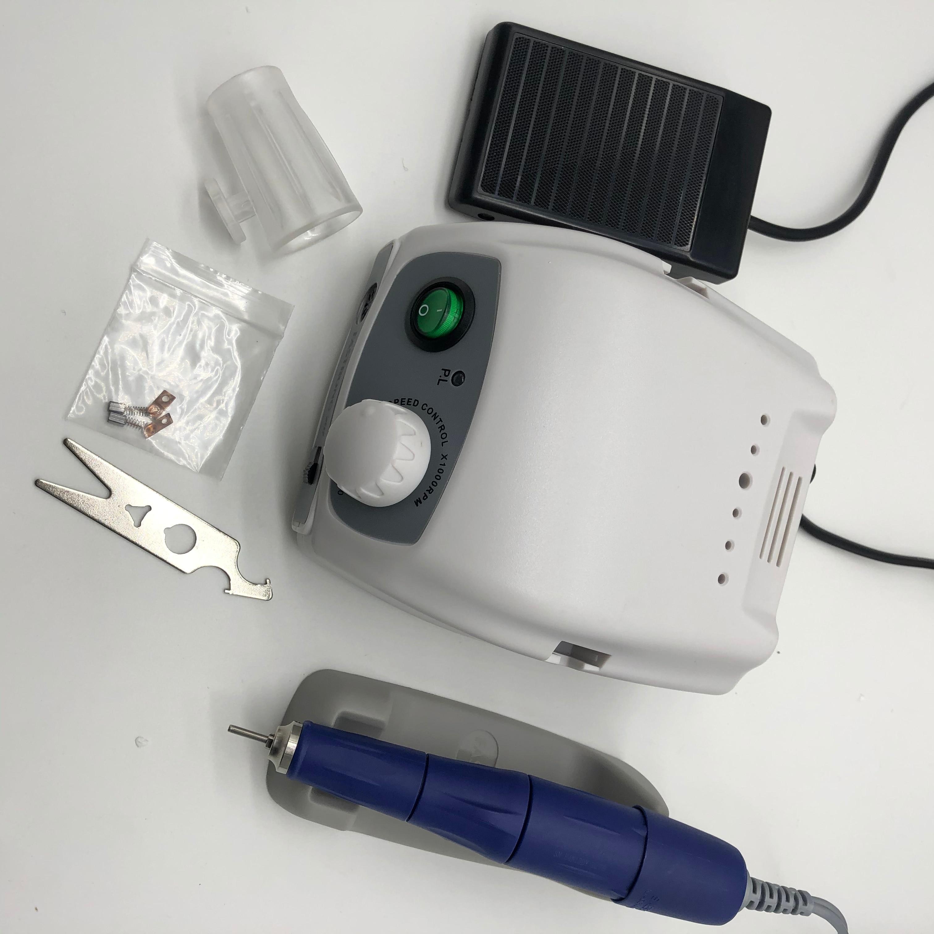 40000 об/мин сильный 210 105L микромотор наконечников и сильный 207B Управление коробка электрический Фрезер для ногтей, сверлильный станок для маникюра, оборудование для маникюра|Электрические маникюрные дрели|   | АлиЭкспресс