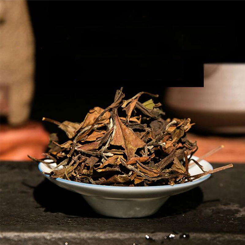 2016 High Mountain White Tea Loose Leaf Sundried Shou Mei Fuding White Tea Bai Cha Chinese Teas 100g