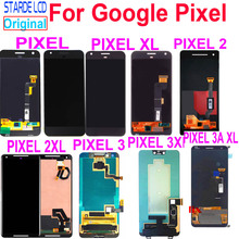 цена на Amoled LCD For Google Pixel 2 3 3A XL LCD Display Touch Screen Digitizer Assembly Replacement For Google Pixel XL 2XL 3XL 3AXL