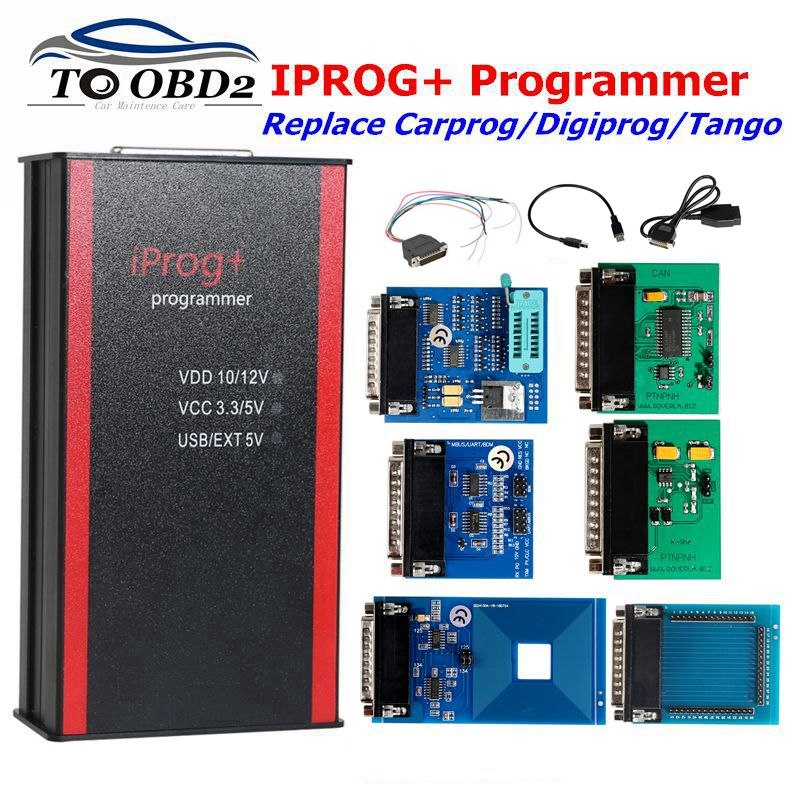 Newest Iprog+ V77 Pro Programmer Support IMMO+Mileage Correction+Airbag Reset till the year 2019 Replace Carprog/Tango/Digiprog-in Air Bag Scan Tools & Simulators from Automobiles & Motorcycles on