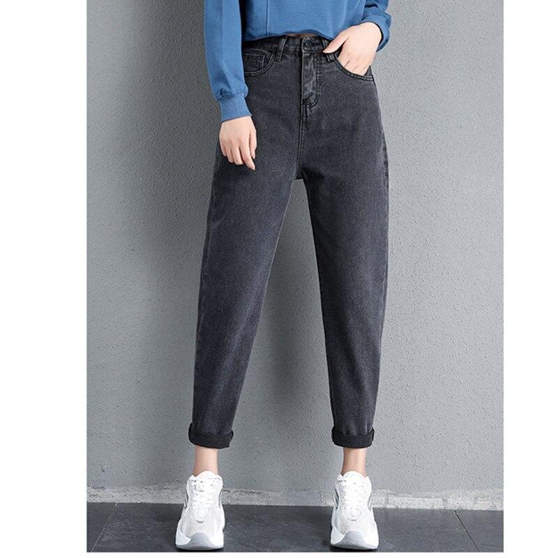 JUJULAND Джинсы женские мама джинсы брюки бойфренд джинсы для женщин с высокой талией пуш-ап Большие размеры женские джинсы деним 0101