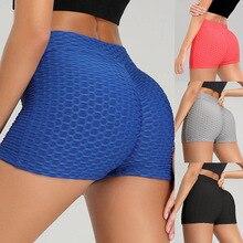 Sexy Yoga Shorts Women 2020 Sports Running Push up Slim Elastic High Waist Gym Workout fitness yoga shorts Leggings Underwear