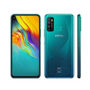 Абсолютно новый смартфон Infinix HOT 9 4G LTE мобильный телефон с двумя sim-картами 3 ГБ ОЗУ 32 Гб ПЗУ Восьмиядерный 6,6 дюйма 720x1600P 5000 мАч 13 МП Android 10