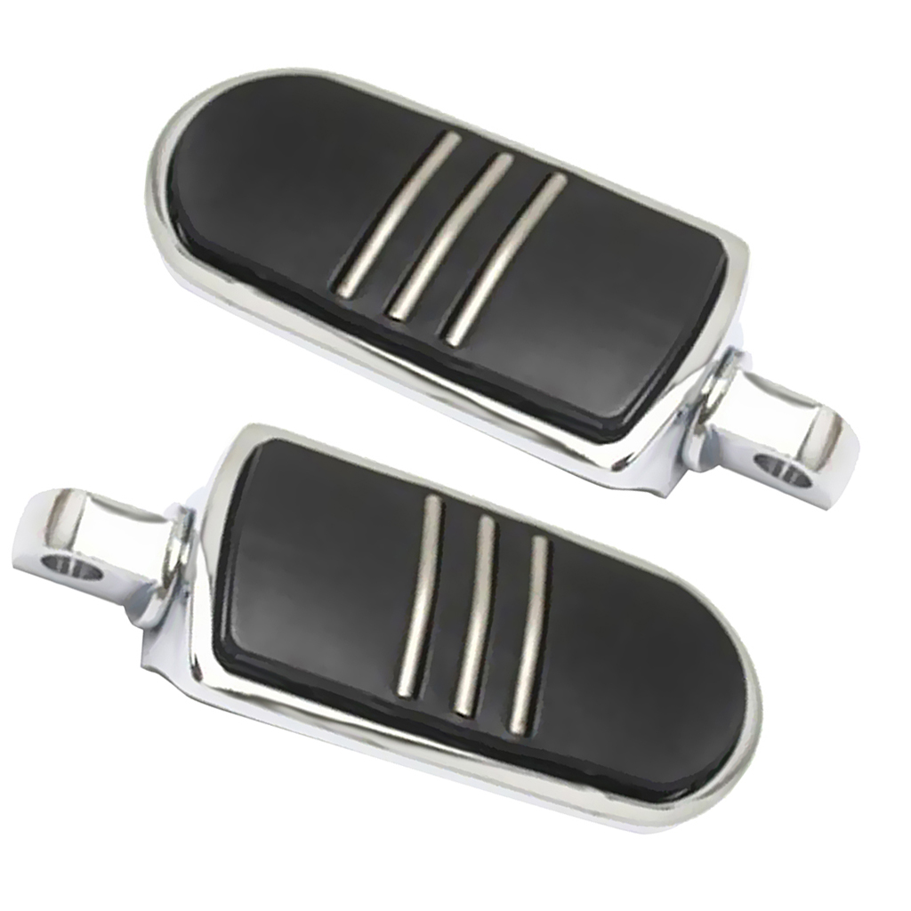 1 Pair Silver Motorcycle Body Frame Foot Pegs Footrest For  Models