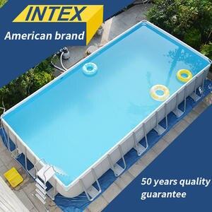 Family-Bracket Pool-Fish-Pond Play Large Pool Swimming-Pool-Thickening Adult Baby INTEX
