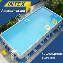 INTEX baby play bracket swimming pool thickening children's home large pool collapsible pool fish pond commercial adult family