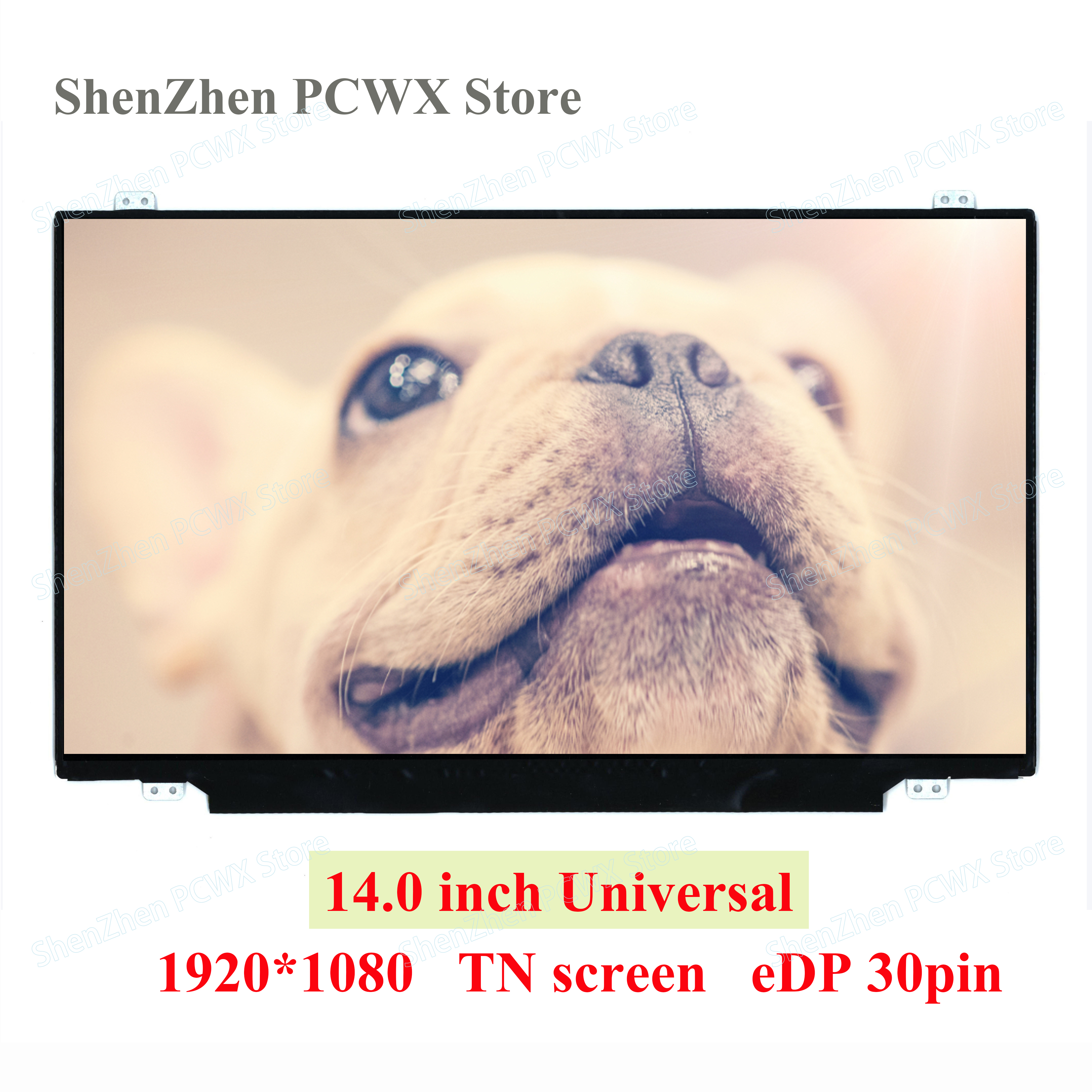 A 14.0 Notebook LCD Screens for Acer Lenovo Dell ASUS HP Laptop Display eDP 30 pin FHD 1920*1080 2K