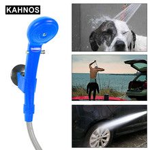 Portable Car Washer 12V Camping Shower Car Shower High Pressure Power Washer Electric Pump For Outdoor Camping Travel Supplies