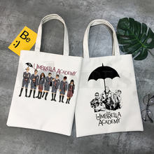 Сумка для шоппинга с графическим принтом зонтика символа Академии