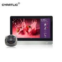 ihome4 door camera wifi door bell mirilla digital puerta video peephole door viewer with 7 inch touch screen