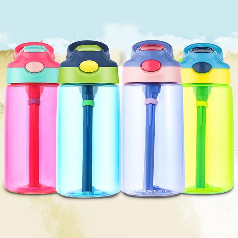 500ml Outdoor Kids Sport Bottle BPA Free With straw Hiking Climbing Bottle for Water My Children Water Juice Bottle Healthy Life|Water Bottles| |  - AliExpress