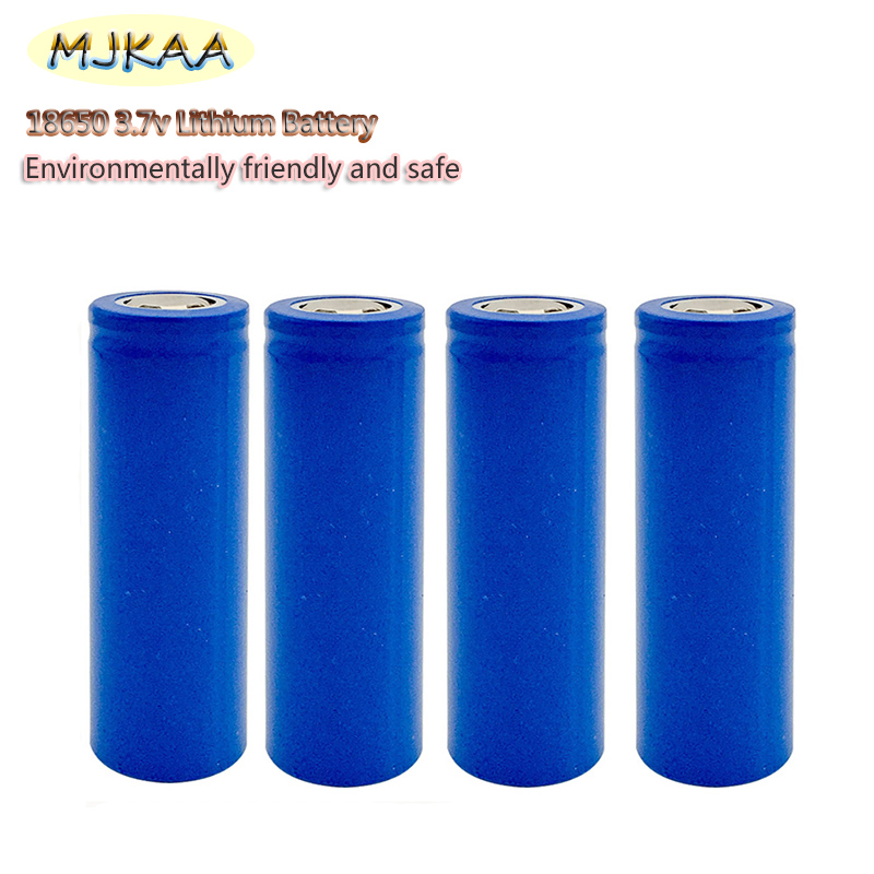 4PCS 100% Brand New Original 18650 <font><b>3.7v</b></font> Lithium <font><b>Battery</b></font> Rechargeable <font><b>Battery</b></font> for Flashlight Electronic Gadgets image