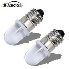 RUIANDSION – ampoule Led à vis E10 F5, AC 220V 230V 6000K 4300K, blanc chaud, indicateur de Machine, éclairage 1Watt, 2 pièces