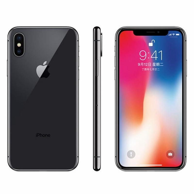 Original iOS Apple iPhone X Face ID 64GB/256GB ROM 3GB RAM Hexa Core A11 5.8