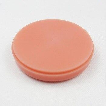 5pcs Dental PMMA acrylic blocks Pink PMMA Disc for dental lab