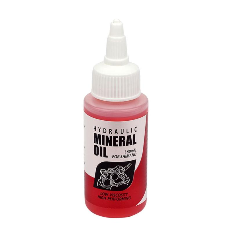 60mL Bicycle Brake Mineral Oil System Red Fluid Cycling Mountain Bikes For Shimano Bicycle Repair Tools Bike Accessories