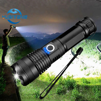 dropshipping xhp50.2 LED Lamp most powerful flashlight usb Zoom led torch xhp50 18650 or 26650 Rechargeable battery for hunting super bright led flashlight xhp50 2 powerful linterna usb zoom led torch xhp50 18650 rechargeable battery