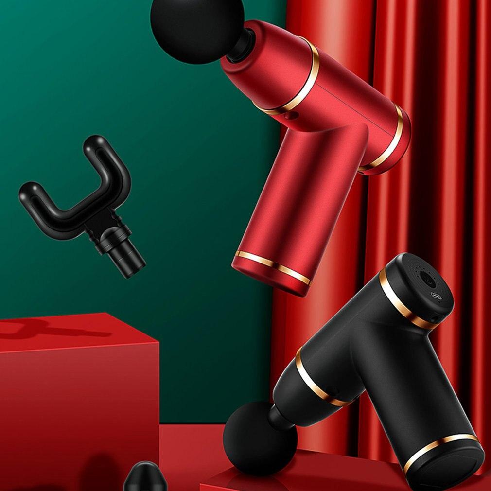 Mini USB Massage Instrument Muscle Relaxation Massager Fascia Tool 8-gear Adjustment Chargable Massage Tool