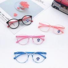 Модные детские очки с защитой от синего света милые плоские