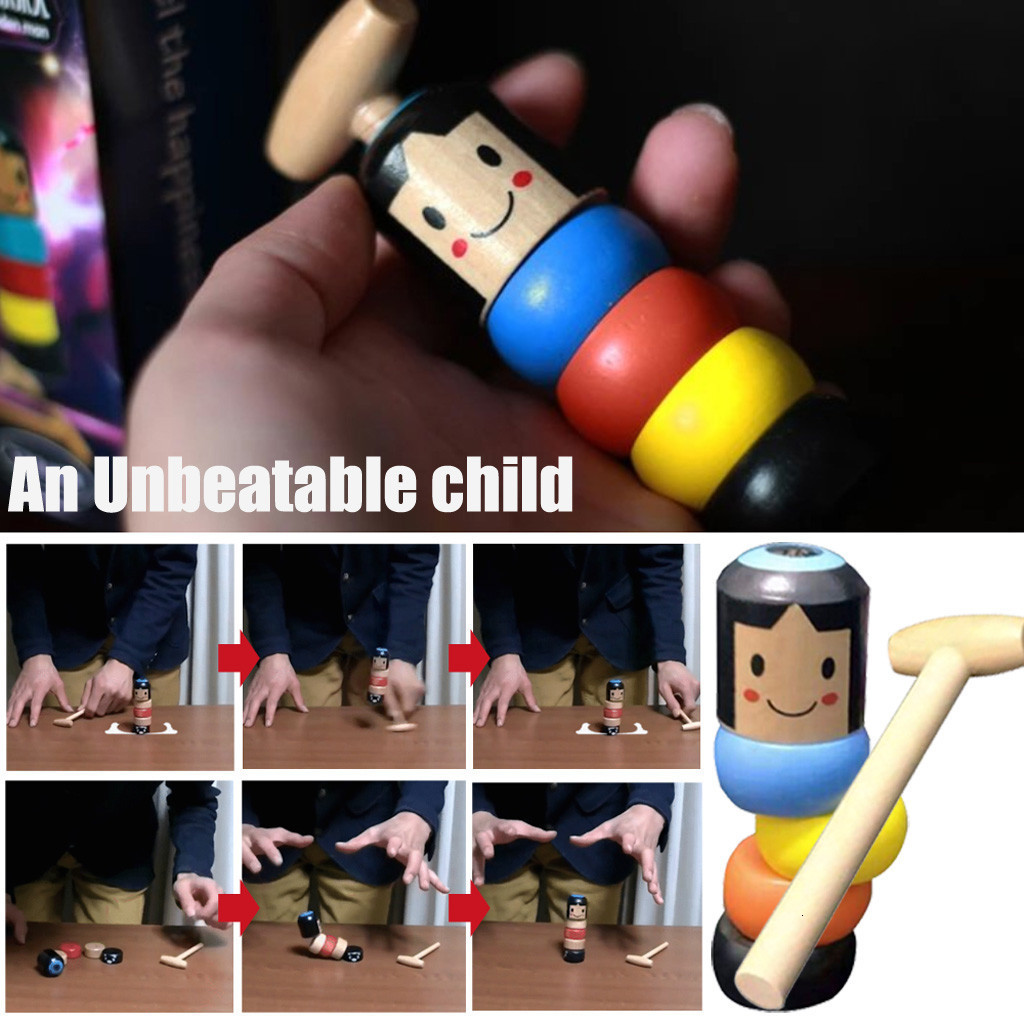 Immortal Set Would Make An Unbreakable Wooden Man Toy Magic Tricks Near Stage Magical Magical Magical Toy Props Fun Accessory