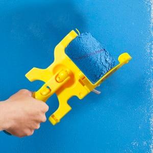 Image 2 - Outil de bordure de peinture de brosse de rouleau de coupe propre pour la maison plinthe garniture de porte mur plafond peinture outils de traitement de mur