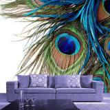 Freiheit 3D Pfau Tapete Foto Wandmalereien Große Wandbild Wasserdichte Wand Papier Papel De Parede Home Wand Kunst Dekor