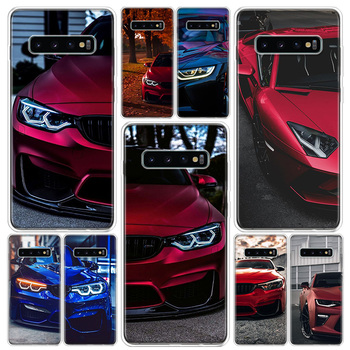 Blue Red for Bmw Phone Case For Samsung Galaxy S10 S20 Ultra Note 10 9 8 S9 S8 Plus Pro Lite S7 S6 J4 J6 + Soft Cover image