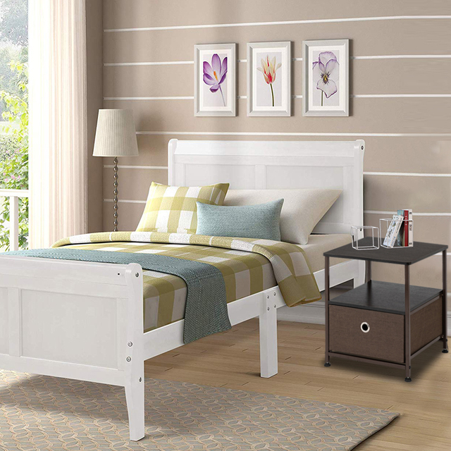 Nightstand 1-Drawer  & Accent End Table  6