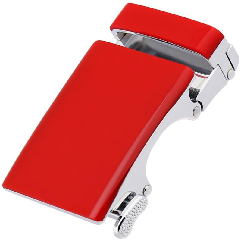 Fashion Men's Business Alloy Automatic Buckle Unique Men Plaque Belt Buckles 3.5cm Ratchet Men Apparel Accessories LY136-21802
