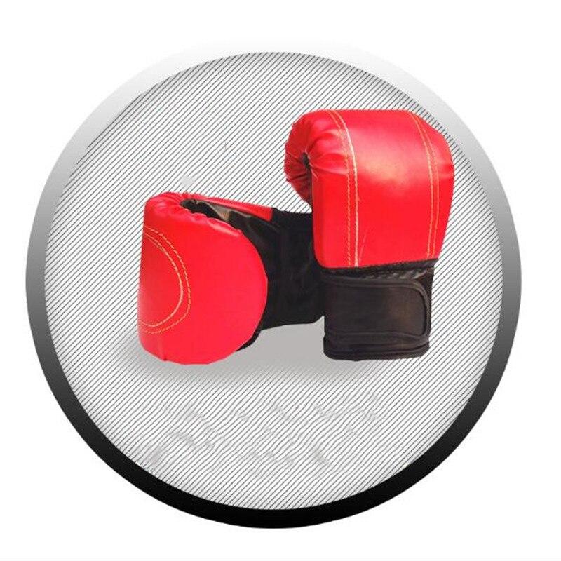 Luvas de Boxe Bolsa de Areia Luvas de Boxe para Treinamento Vermelho Preto Adulto Profissional Forro Luvas Masculino – Feminino para Treinamento Fitness 1 Par & Mod. 390834